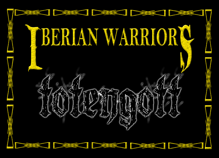 Iberian Warriors - Totengott